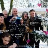 annie-rett-kerstboom met tony neef, gerrie v.d. klei, raymond kurvers, maike boerdam en joey schalker.