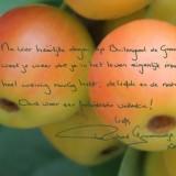 handgeschreven tekst richard groenendijk voor buitengoed de gaard