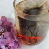heerlijke theemélanges, wakker worden met een kopje thee, bezorgontbijt van mélange voor gasten van buitengoed de gaard leudal