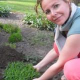 rett ambassadrice maaike widdershoven plant lavendel voor de nrsv