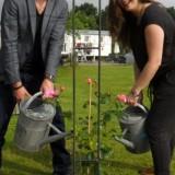 roos geplant voor rett syndroom door elise schaap en wouter de jong bij buitengoed de gaard