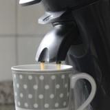 senseo koffieapparaat in mammaloewagen