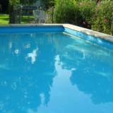 zwembad vakantiehuisje pipowagen leudal limburg