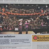 suus voorpagina dagblad de limburger 10-10-2013 premiere suus zingt toon weert